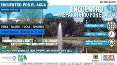 hoy en el jardin botánico de bogota , CONSTRUYENDO EL MANDATO CIUDADANO POR EL AGUA !!