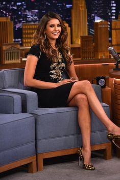 Nina Dobrev Photos: Nina Dobrev Visits 'The Tonight Show'