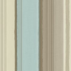 Grandeco Elise Contemporary Duck Egg, Taupe and Natural Stripe Wallpaper | | The Decorating Shop: Online Wallpaper Store