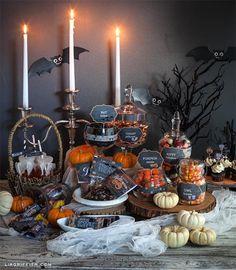 Halloween decorations : IDEAS & INSPIRATIONS  Printable Halloween Party Kit Roundup