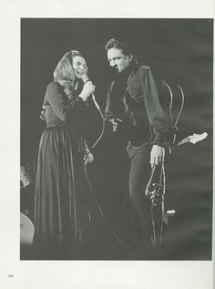Johnny Cash and June Carter at UT. (University of Tennessee…