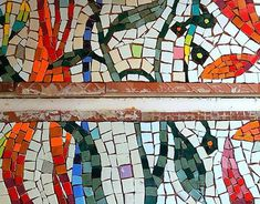 Ceramic Tools, Mural Art, New Work, Art Projects, Mosaic, Profile, Behance, Colours, Quilts