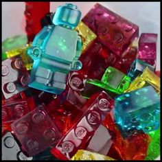 Dollar Store Crafter: How To Make LEGO Gummy Candy