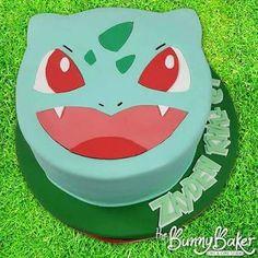 Resultado de imagem para bulbasaur cake