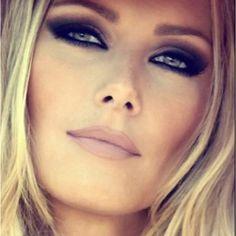 Dramatic smokey eye - very Bridget Bardot