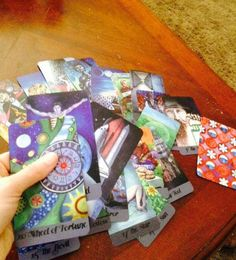 The Wayfarer Tarot Major Arcana deck - $16.00 - Handmade Art, Crafts and Unique Gifts by Iris X Readings, Lotions and Other Potions