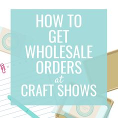 How to Attract Wholesale Orders at Craft Shows Crafts To Sell, Crafts For Kids, Arts And Crafts, Selling Crafts, Diy Crafts, Sand Crafts, Seashell Crafts, Paper Crafts, Drawing Desk