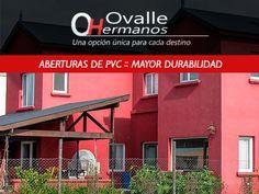 Carpintería en PVC. Aberturas de PVC en Provincia de Buenos Aires, República Argentina. Conocenos más, en nuestro, sitio web: http://www.ovallehnos.com.ar