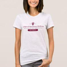 #customized - #College Of Veterinary Medicine | UOM Alumni T-Shirt