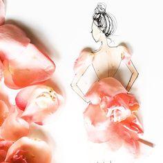 erryday I'm bustlin' // #SomeFlowerGirls #rose // à la #dior