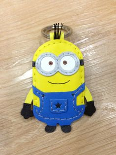 Inspired Cartoon Character  Despicable Dave the by leatherprince, $33.00