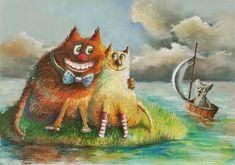 Rysunek pastelami ilustracja Painting, Art, Art Background, Painting Art, Kunst, Paintings, Performing Arts, Painted Canvas, Drawings