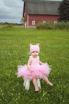 Baby Girl Halloween Costumes Pig Ideas For 2019 Pink Dresses For Kids, Girls Tutu Dresses, Pink Kids, Tutus For Girls, Farm Animal Costumes, Pig Costumes, Dance Costumes, Costume Ideas, Baby Girl Halloween Costumes