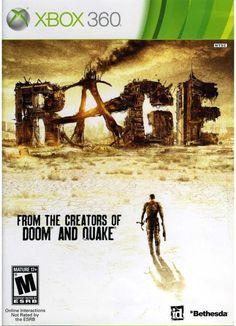 Microsoft Rage Xbox 360 Game