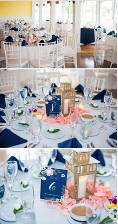 Tablescapes at Out of the Blue!  Photo by Melinda @ Enduring Impressions                                                                                                                                                                                 More