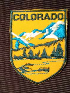 Colorado Vintage Travel Patch by Voyager by HeydayRetroMart, $7.00