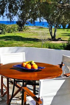 Enjoy your holidays in our sea view Villas & Apartments in Crete with special OFFERS! Villa Memories in Paleochora, Chania Vegas Vacation, Vacation Villas, Summer Vacations, Crete Holiday, Outdoor Tables, Outdoor Decor, Beach Villa, Land Scape, Beautiful Gardens