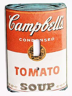 Campbell's Soup Can Light Switch Cover