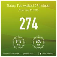 Friday, May 13, 2016 - 274 steps