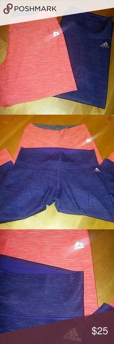 Workout Bundle Workout Bundle 2 Capris. 1 adidas XL, 1 RBX  XL, nice and clean. No rips or stains. adidas Pants Capris
