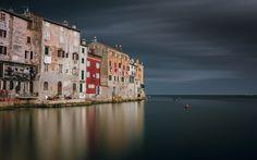 Download wallpapers Rovinj, Adriatic sea, Istria, Croatia, summer, sea
