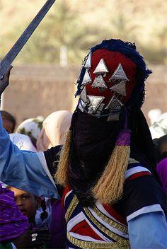 Africa | Tuareg festival in Djanet, Illizi, Algeria | © marieangemassenet