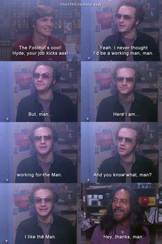 The Man.
