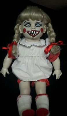 Zombie Baby Annabelle The Conjuring inspired Halloween Haunted House Prop