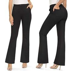 Slacks For Women, Trousers Women, Yoga Pants With Pockets, Dress Yoga Pants, Work Pants, Fitness, Clothes, Yoga Dance, Working Woman