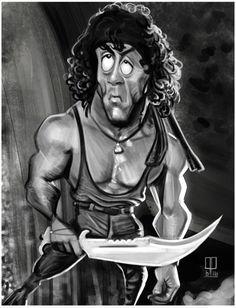 Rambo by mapontocom.deviantart.com on @DeviantArt