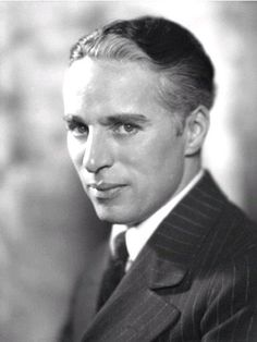 Charlie Chaplin, so talented and ahead of his time.
