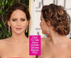 Jennifer Lawrence Golden Globe Awards