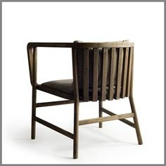 F197 - NOAH CHAIR IN BIRCH IN WHEAT