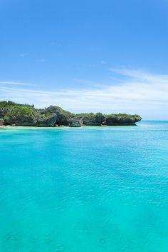 Blue lagoon bay of Panari Island, Yaeyama, Japan | Flickr - Photo Sharing!