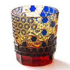 江戸切子の「ロックグラス」