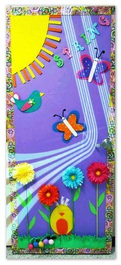 M s de 1000 ideas sobre puerta preescolar en pinterest for Puertas decoradas 16 de septiembre