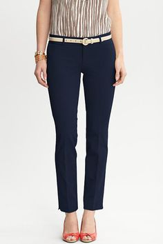 Banana Republic Sloan Fit Slim Ankle Pant, $90. I freaking love these pants for work!  I want them in every color!!
