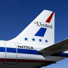 United Airlines A320 with '70s retro Friend Ship livery