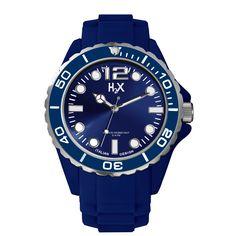 H2X Reef gents SB382UB1 blauw horloge | H2X heren collectie 2012 |