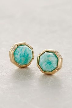 Octagon Studs - anthropologie.com #anthrofave