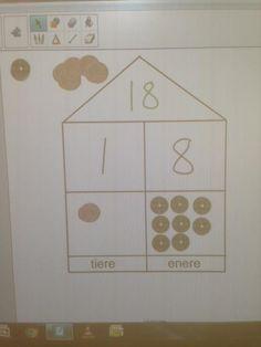 Vi jobber med dagens tall på ulike måter. Vi snakker om antall enere og tiere, om nabotall og tvillingtall, om halvparten og det dobbelte, bruker kulekalenderen og lager regnestykker hvor svaret bl…