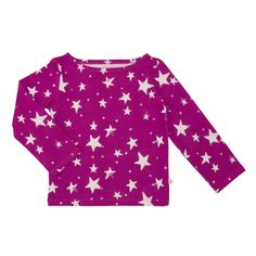 Noé & Zoë SS 16 - Loose sailor shirt in purple invers stars http://www.noe-zoe.com/Collections/SS-16/