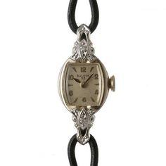 Blova 【吉祥寺R's】ブローバ10KGPダイヤ1950年代アンティーク 時計 Watch Antique ¥65000yen 〆05月16日