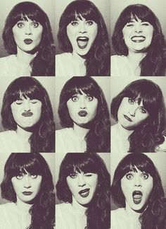 Zoey Deschanel.