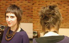 haircut female short spiky by wip-hairport, via Flickr