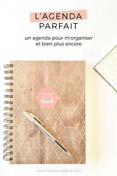 Un agenda parfait pour m'organiser et bien plus encore Diy Organisation, Agenda Organization, Organization Bullet Journal, Diy Agenda, Agenda Planner, Parfait, School Agenda, Bujo, Bullet Journal Printables