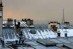 Balade sur les toits de Paris