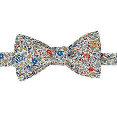 6dac804ccf998 Noeud papillon Liberty fleuri pré-noué made in France. Noeud pap Tana Lawn  Katie