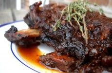 Crockpot coffee ancho chile short ribs - love any recipe where you blend the ingredients in a processor and throw it in a pot.  And anything with coffee.