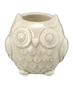 Love this Petite Owl Vase by Established 98 on #zulily! #zulilyfinds